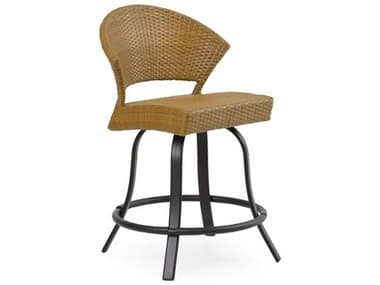 Palm Springs Rattan Cape Town Aluminum Swivel Counter Stool PS3224