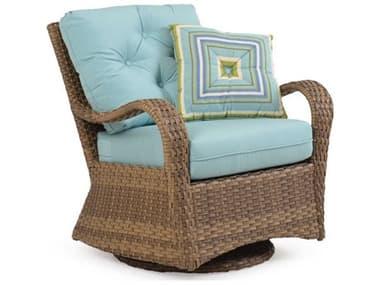 Palm Springs Rattan Alexandria Wicker Swivel Glider Lounge Chair PS6007