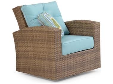 Palm Springs RattanSeaside Wicker Swivel Glider Lounge Chair PS6391