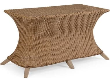 Palm Springs Rattan Edenton Wicker Rectangle Dining Table Base PS651746