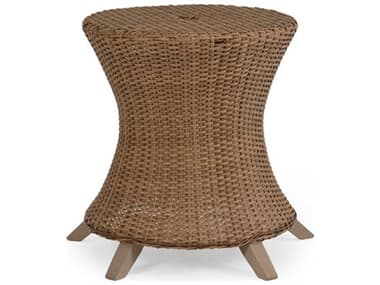 Palm Springs Rattan Edenton Wicker Round Dining Table Base PS651750