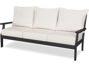 POLYWOOD® Braxton Recycled Plastic Cushion Sofa PW4503