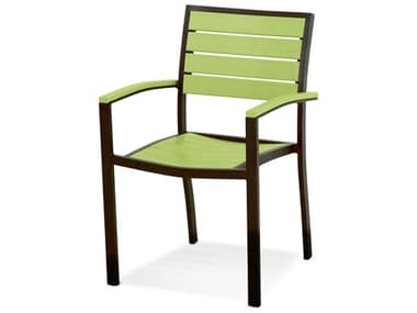 POLYWOOD® Euro Recycled Plastic Dining Arm Chair PWA200