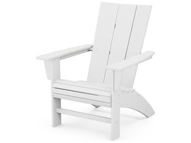 POLYWOOD® Modern Recycled Plastic Adirondack Chair PWAD620