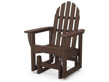 POLYWOOD® Classic Adirondack Glider Chair Seat Replacement Cushion PWADSGL1CH