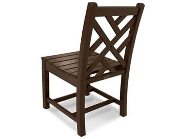 POLYWOOD® Chippendale Recycled Plastic Dining Side Chair PWCDD100