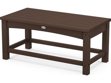 POLYWOOD® Traditional Recycled Plastic 35''W x 18''D Rectangular Coffee Table PWCLT1836