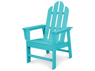 POLYWOOD® Long Island Recycled Plastic Adirondack Dining Arm Chair PWECD16