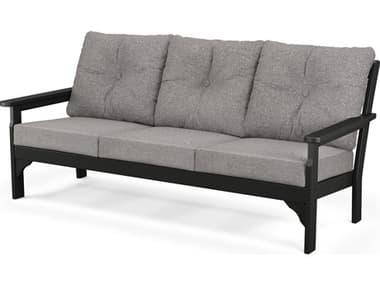 POLYWOOD® Vineyrad Recycled Plastic Deep Seating Sofa PWGN69