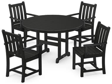 POLYWOOD® Traditional Garden Recycled Plastic Dining Set PWPWS1341