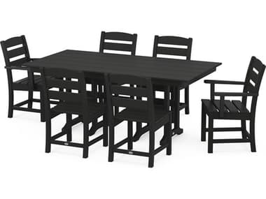 POLYWOOD® Lakeside Recycled Plastic 7 Piece Dining Set PWPWS5161