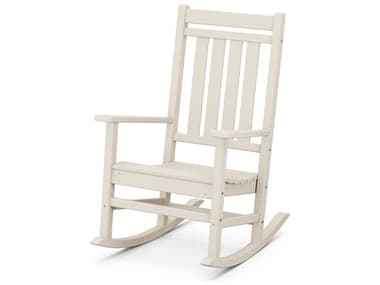 POLYWOOD® Estate Porch Recycled Plastic Rocker Lounge Chair PWR199