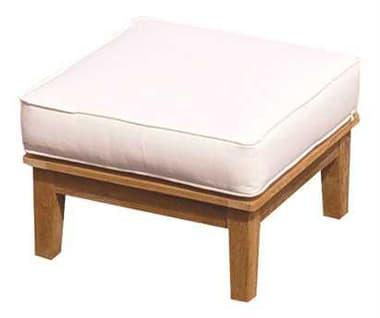 Royal Teak Collection Miami Cushion Ottoman RLMIAOT