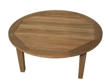 Royal Teak Collection Miami 42'' Wide Round Coffee Table RLMIAT42R