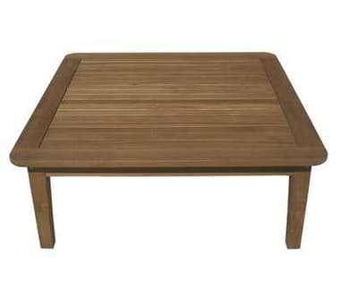 Royal Teak Collection Miami 42'' Wide Square Coffee Table RLMIAT42S