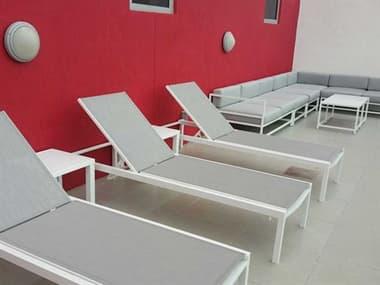Source Outdoor Furniture Fusion Aluminum Sling Lounge Set SCFUSIONLNGSET27