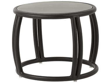 Source Outdoor Furniture Elephant Aluminum Small 20'' Wide Round End Table SCSF1020322