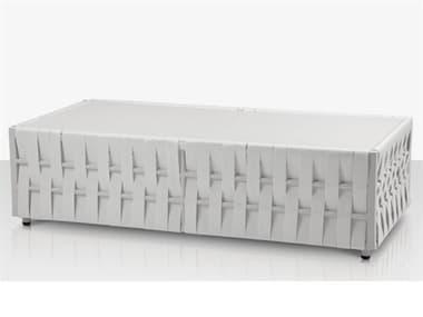 Source Outdoor Furniture Scorpio Aluminum 47''W x 24''D Rectangular Coffee Table SCSF1026311