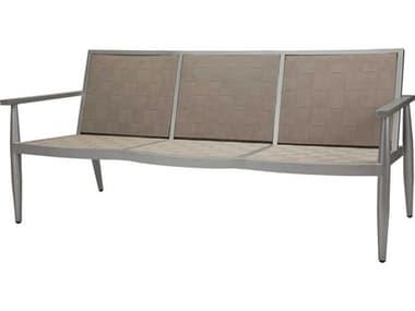 Source Outdoor Furniture Danish Aluminum Sling Strap Sofa SCSF1027103