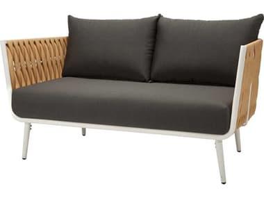 Source Outdoor Furniture Aria Aluminum Cushion Loveseat SCSF2028102