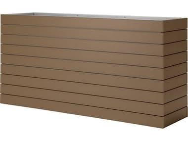 Source Outdoor Furniture Vienna Aluminum 2' Medium Planter SCSF2404792
