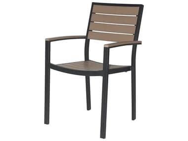 Source Outdoor Furniture Napa Aluminum Stackable Dining Arm Chair SCSF2405163