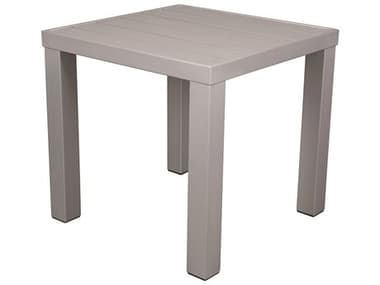 Source Outdoor Furniture Fusion Aluminum 18'' Wide Square End Table SCSF3001303