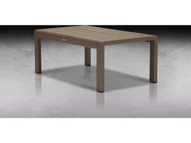 Source Outdoor Furniture Omni Aluminum 39''W x 23''D Rectangular Coffee Table SCSF3013311