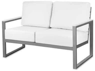 Source Outdoor Furniture Modera Aluminum Loveseat SCSF3203102