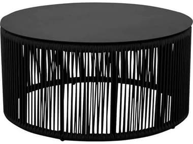Source Outdoor Furniture Skye Aluminum 36'' Wide Round Coffee Table SCSF3303320