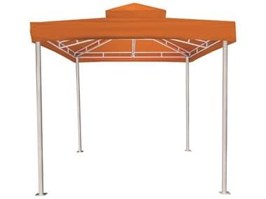 Source Outdoor Furniture Oasis Aluminum 10'x10' Vented Roof Cabana SCSF380165610