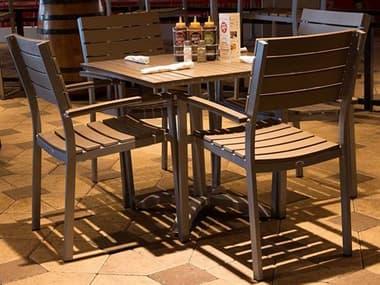 Source Outdoor Furniture Vienna Aluminum Dining Set SCVIENDINSET2