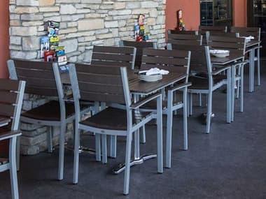 Source Outdoor Furniture Vienna Aluminum Dining Set SCVIENDINSET3