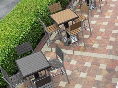 Source Outdoor Furniture Vienna Aluminum Dining Set SCVIENDINSET4