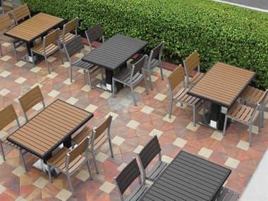 Source Outdoor Furniture Vienna Aluminum Dining Set SCVIENDINSET5