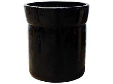 Seasonal Living Black Ceramic Azov Planter SEA308FT372P2B