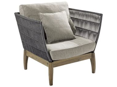 Seasonal Living Explorer Mixed Gray Acaci Wood Wings Lounge Chair (Price Includes 2) SEA504FT001P2G