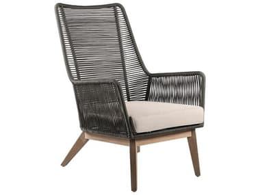 Seasonal Living Explorer Acacia Wood Marco Polo Lounge Chair SEA504FT415P2E