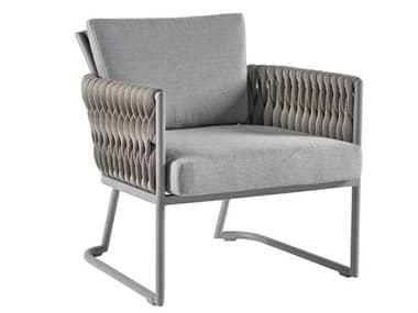 Sifas Basket Mat Grey Aluminum Cushion Lounge Chair SFABASK23
