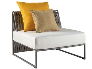 Sifas Kalife Mat Grey Aluminum Cushion Lounge Chair SFAKALI23