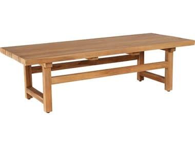 Sika Design Teak Natural Brown Juliana 55''W x 15''D Rectangular Coffee Table SIK9464U