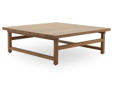 Sika Design Teak Natural Brown Juliana 47''Wide Square Coffee Table SIK9469U
