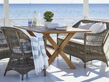 Sika Design Teak Colonial Dining Set SIK9475USET3