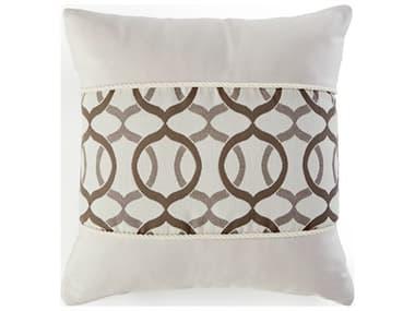 South Sea Rattan 18 x 18 Pillow Talk SRCRM1830