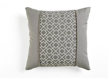South Sea Rattan 20 x 20 Pillow Talk SRGRY201