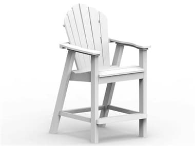 Seaside Casual Classic Adirondack Recycled Plastic Counter Chair SSC024