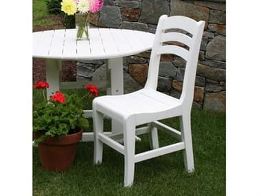 Seaside Casual Salem Rounds Recycled Plastic Dining Set SSC042SET10