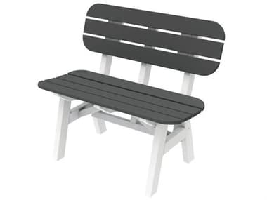 Seaside Casual Portsmouth Recycled Plastic 3 ft. Bench SSC044