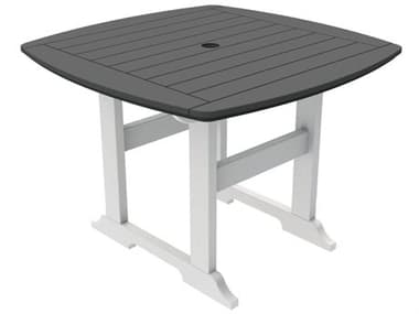 Seaside Casual Portsmouth Recycled Plastic 42'' Wide Square Dining Table SSC049