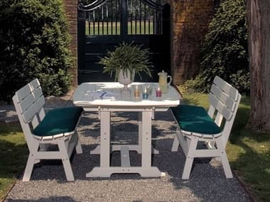Seaside Casual Portsmouth Recycled Plastic Dining Set SSC053SET2